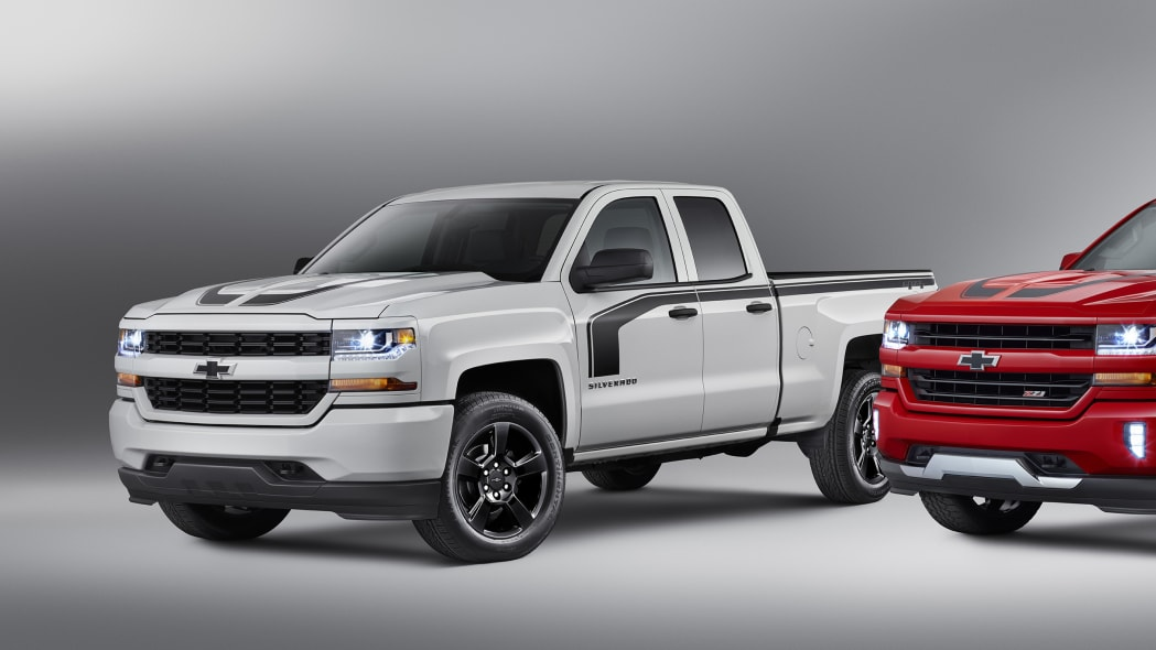 2016 chevy silverado rally edition white three quarters