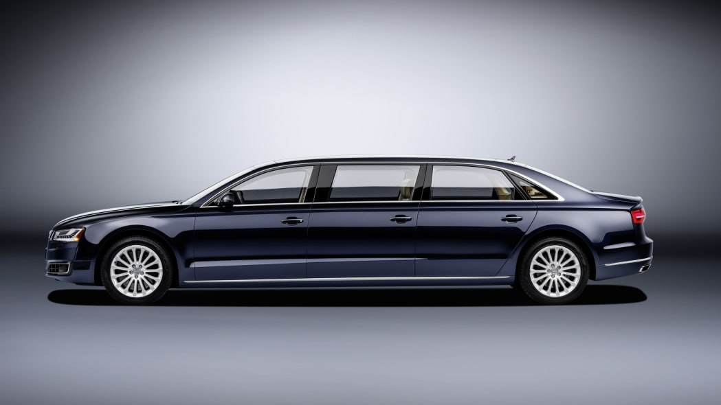 audi a8l extended profile