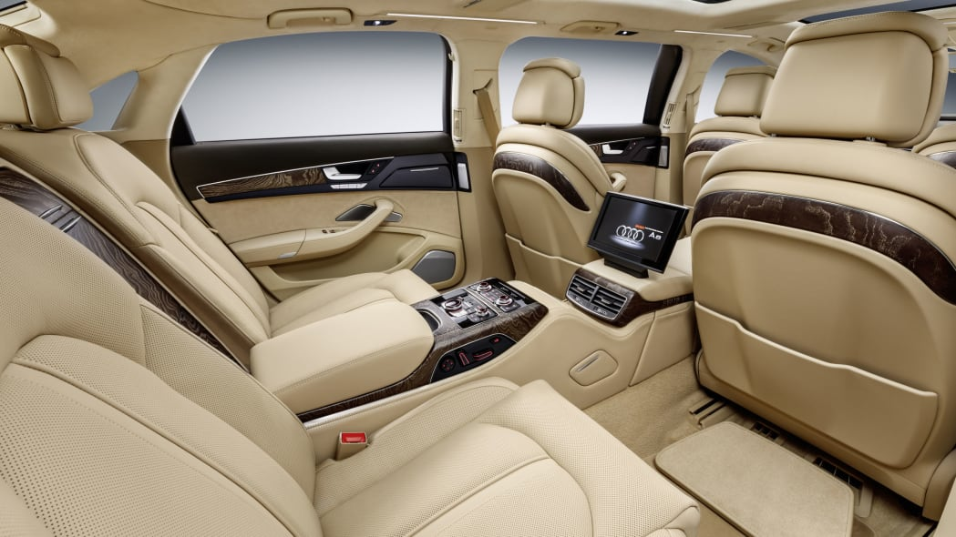 audi a8l extended third row