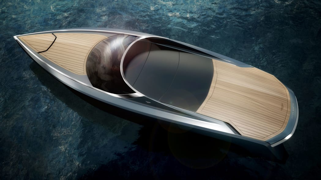 aston martin am37 powerboat closed