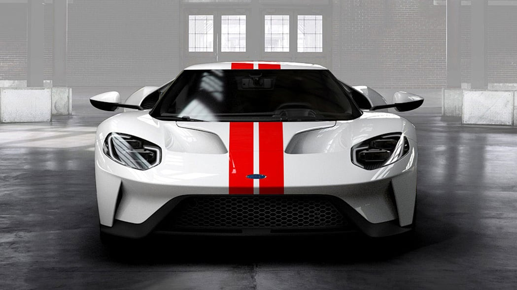 2017 Ford GT front end