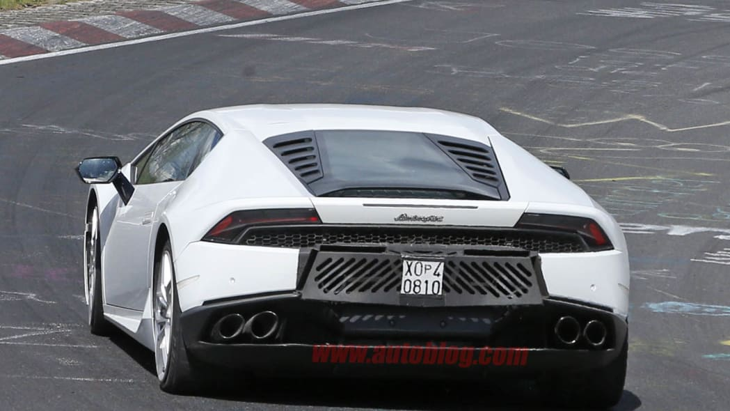 Lamborghini Huracan Superleggera prototype rear