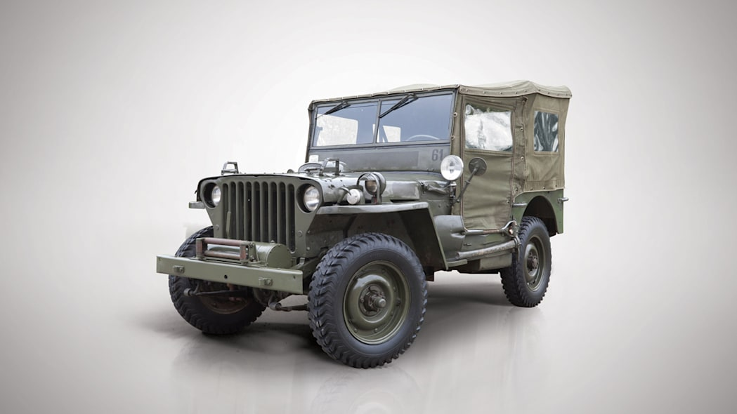 1942 Willys MB Military Jeep