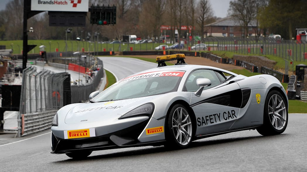McLaren 570S British GT Championship Safety Car