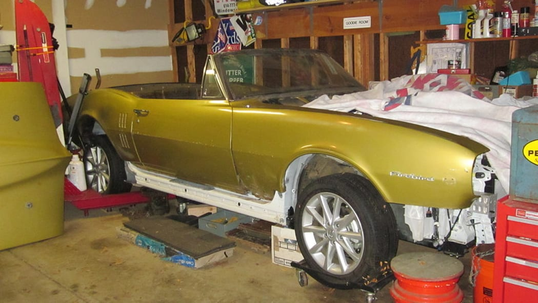 1967 Firebird Convertible to Prius v Hybrid Project