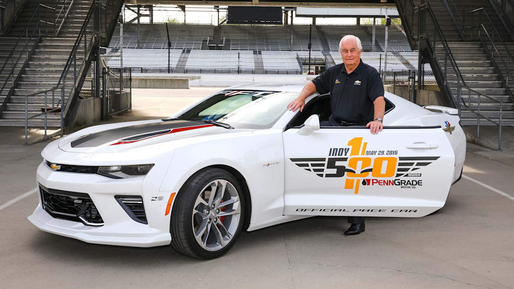 2017 chevy camaro ss 50th anniversary edition pace car with roger penske