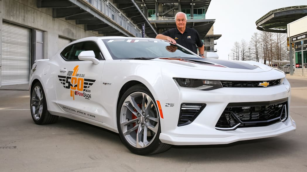 2017 chevy camaro ss 50th anniversary edition pace car with roger penske three quarters