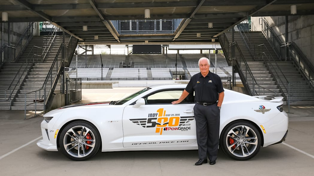 2017 chevy camaro ss 50th anniversary edition pace car with roger penske profile