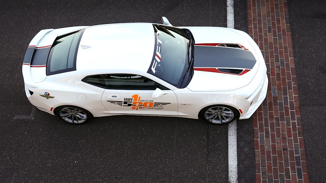 2017 chevy camaro ss 50th anniversary edition pace car above