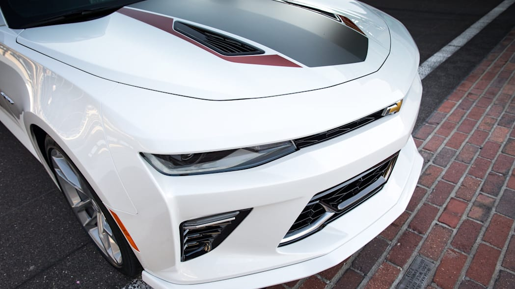 2017 chevy camaro ss 50th anniversary edition pace car front detail