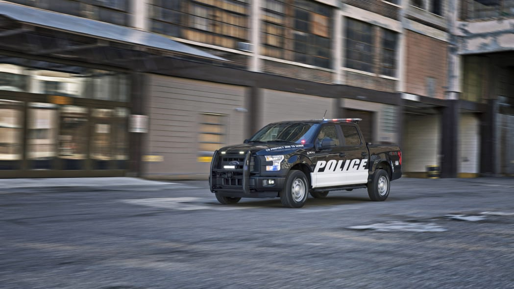 2016 ford f-150 special service vehicle three quarters