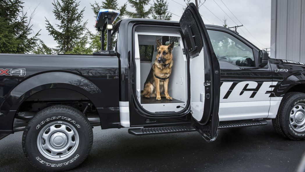 2016 ford f-150 special service vehicle profile