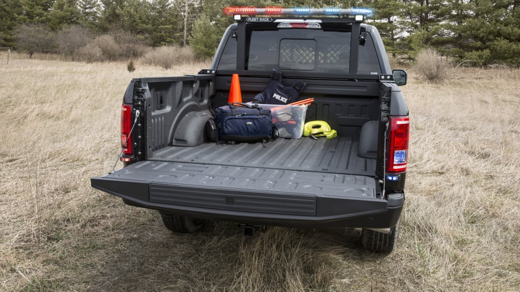 2016 ford f-150 special service vehicle bed
