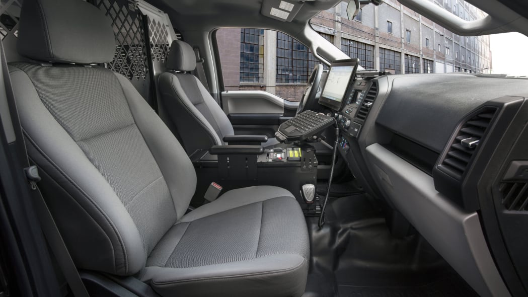 2016 ford f-150 special service vehicle  interior