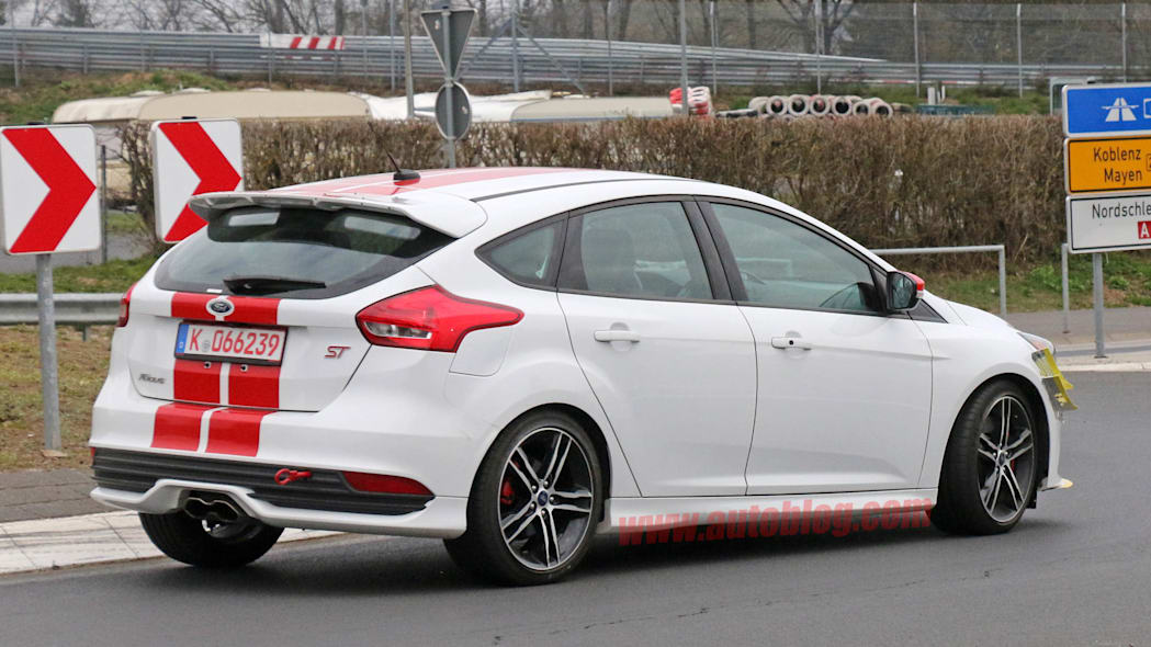 Ford Focus ST280 prototype rear 3/4