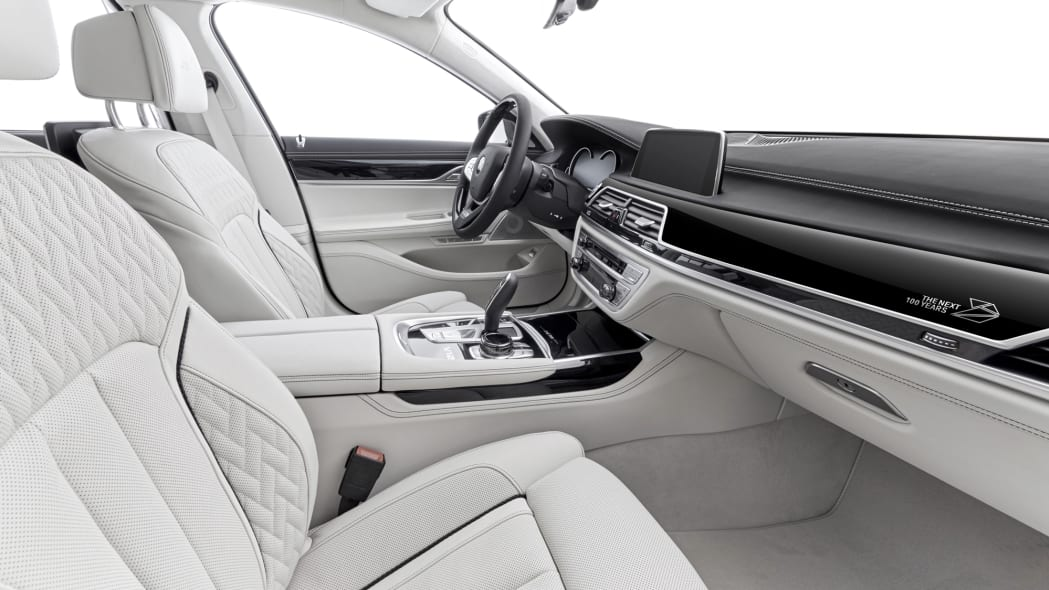 BMW M760i xDrive The Next 100 Years Edition interior dashboard