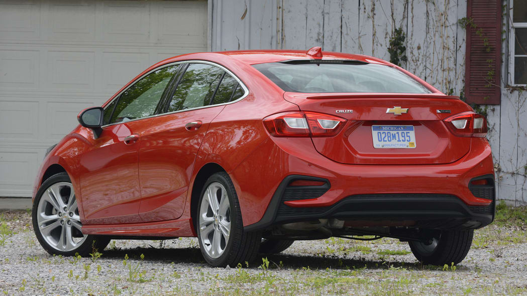 Chevrolet Cruze first drive
