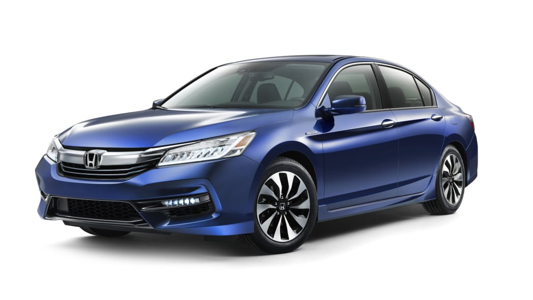 2017 honda accord hybrid front white background