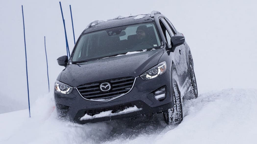 Mazda CX-5 in snow