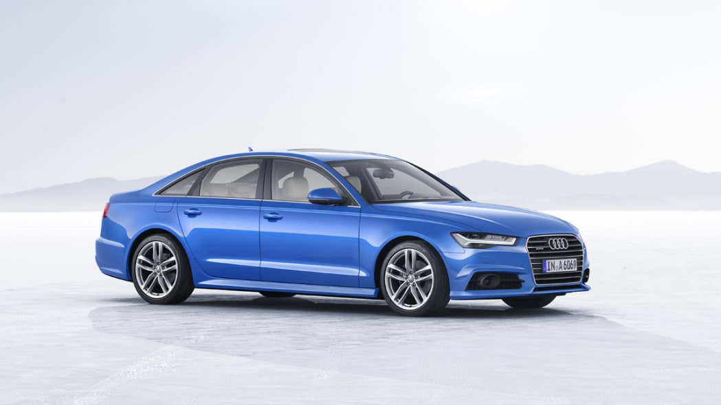 2017 Audi A6 front side 3/4