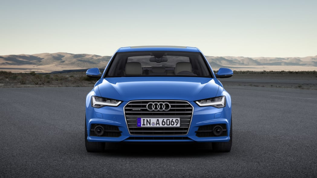 2017 Audi A6 static front