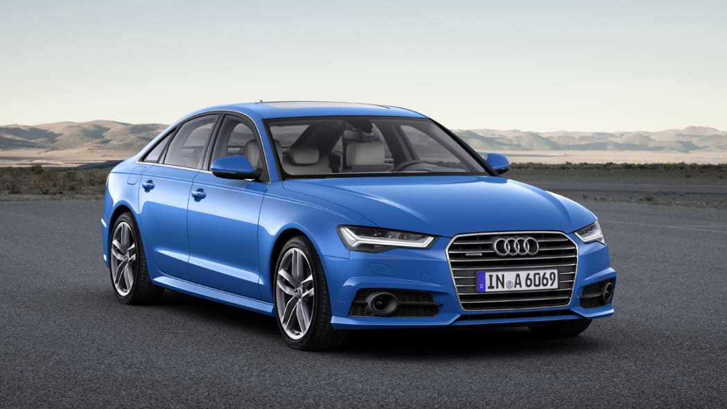 2017 Audi A6 static front 3/4