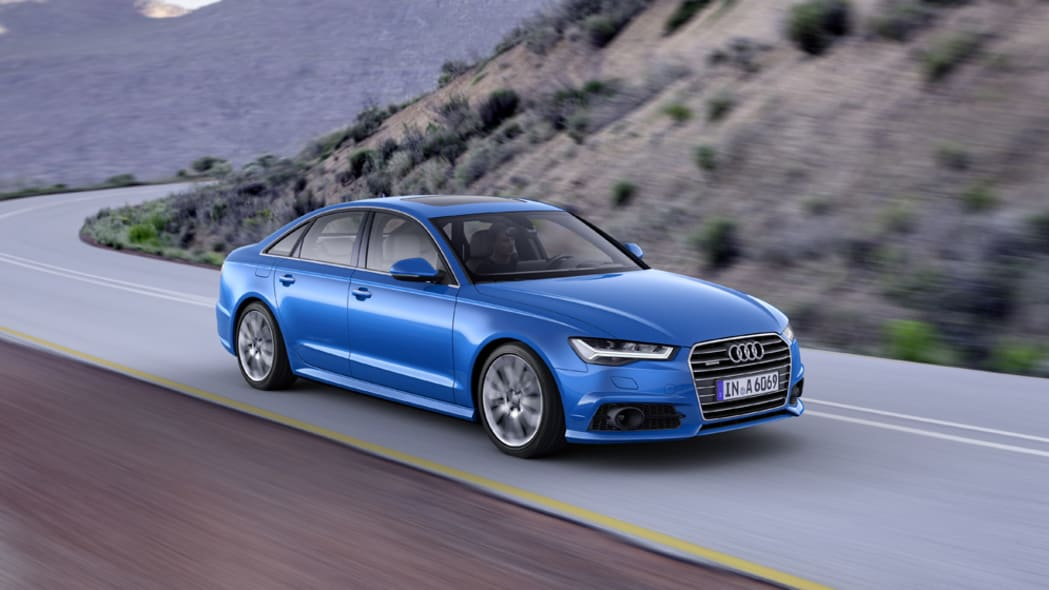 2017 Audi A6 front 3/4 moving