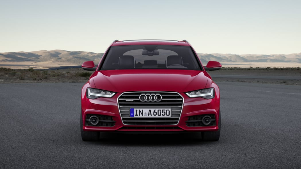 2017 Audi A6 Avant static location front