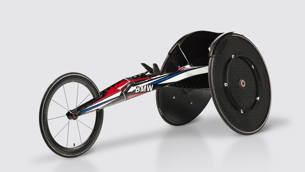 Team USA Racing Wheelchair by BMW DesignWorks