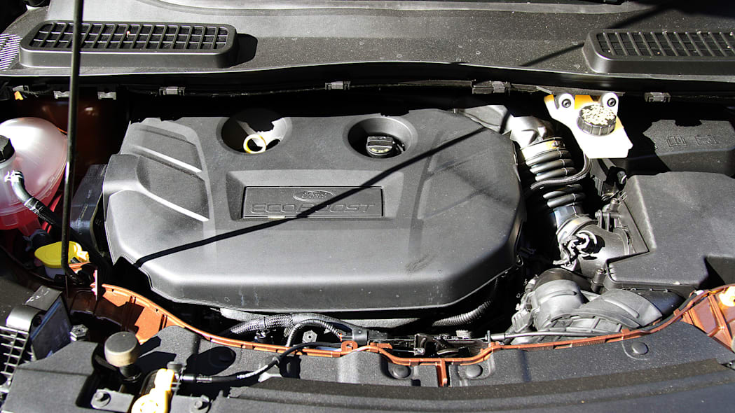 2017 Ford Escape engine