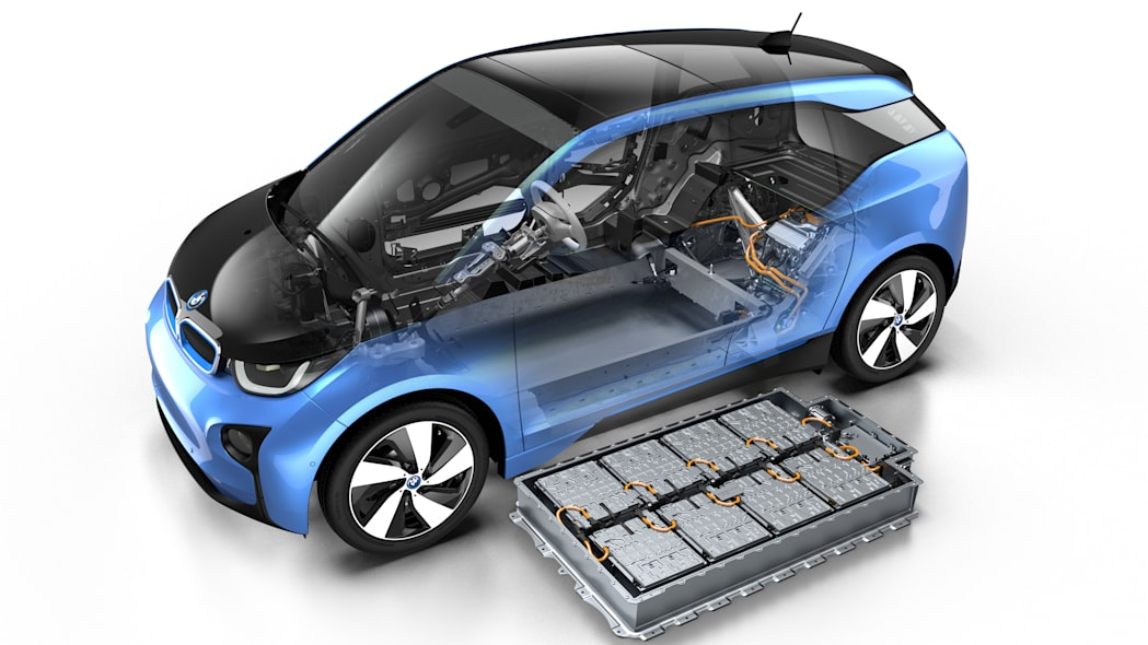 2017 BMW i3 with battery pack