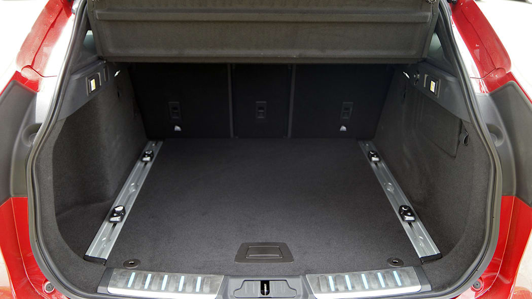 2017 Jaguar F-Pace rear cargo area