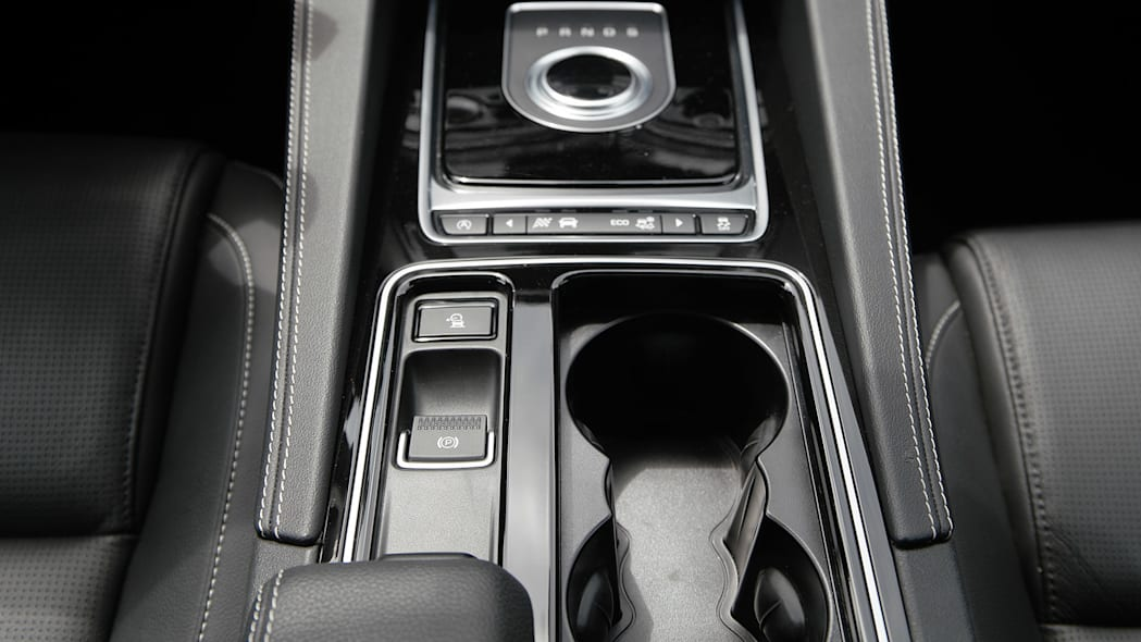 2017 Jaguar F-Pace center console