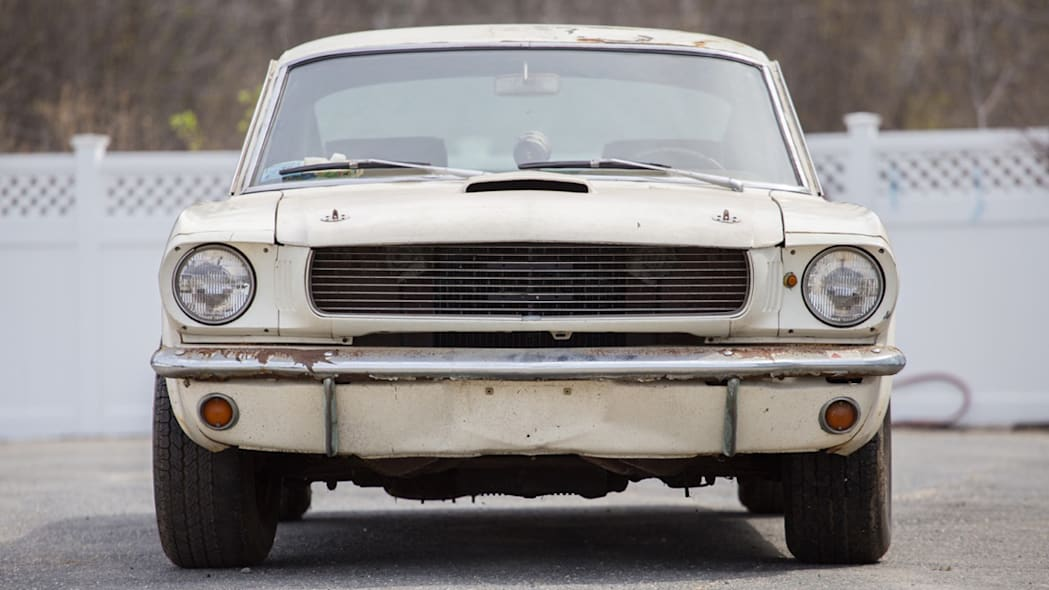 1966 Shelby GT350 #6S163 barn find