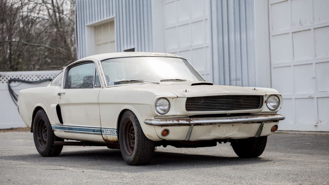 1966 Shelby GT350 barn find