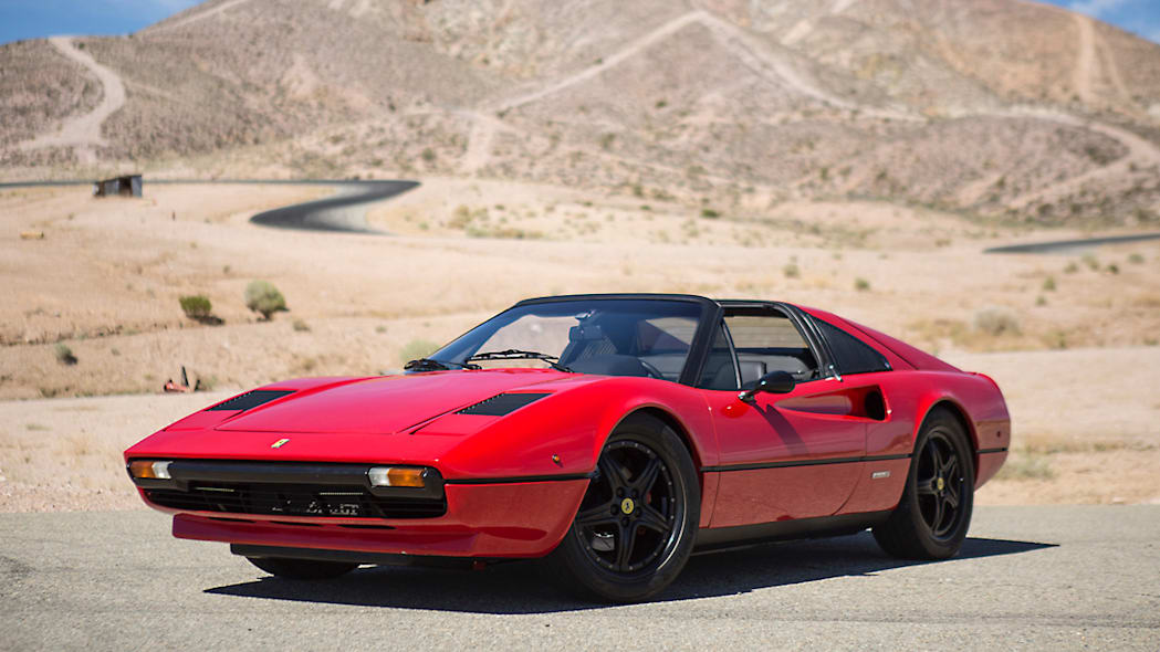 1978 Ferrari 308 GTS by Electric GT front 3/4