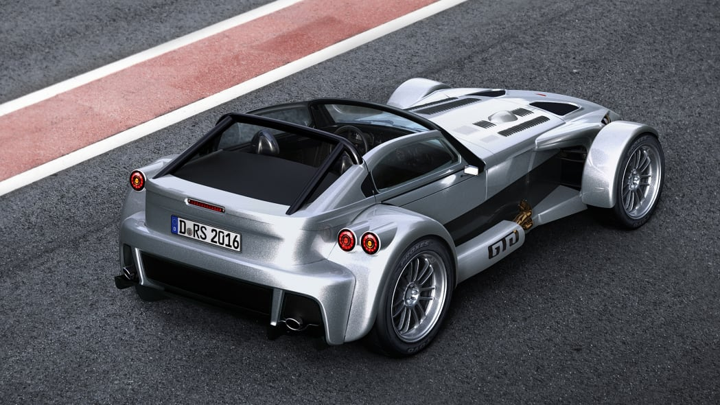 Donkervoort D8 GTO-RS rear top 3/4