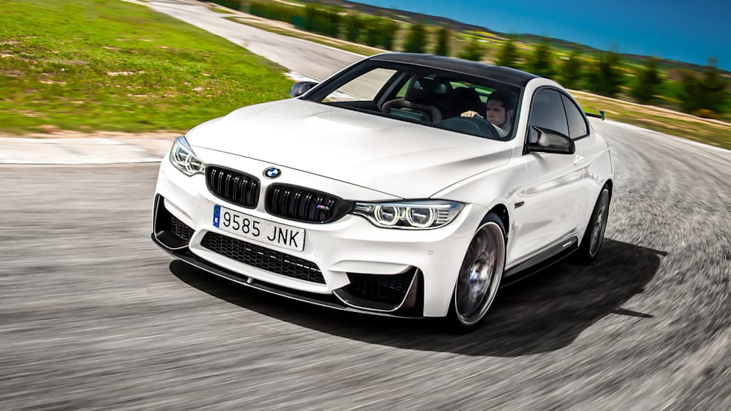 BMW M4 Competition Sport front three-quarter