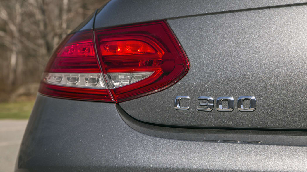 2017 Mercedes-Benz C300 Coupe badge