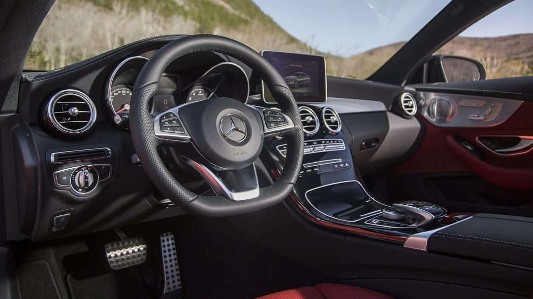 2017 Mercedes-Benz C300 Coupe interior
