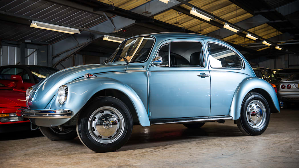 1974 VW Beetle with 90 km from new.