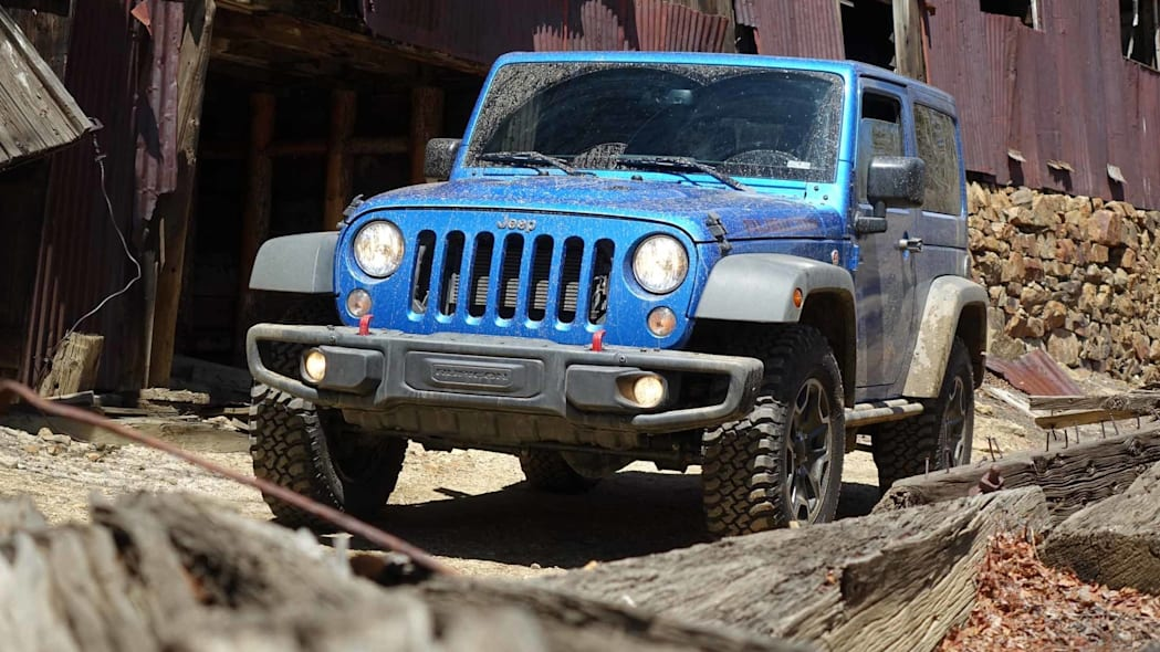 2016 Jeep Wrangler Rubicon Hard Rock front