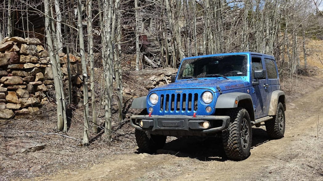 2016 Jeep Wrangler Rubicon Hard Rock front 2