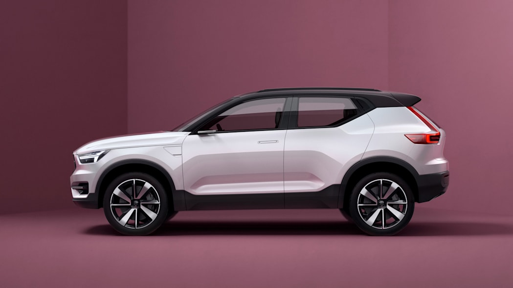 volvo concept 40.1 side compact suv