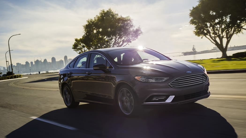 2017 Ford Fusion driving