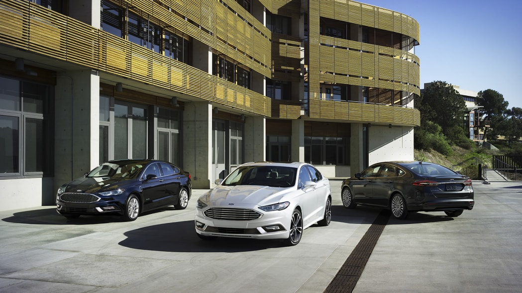 2017 Ford Fusion model lineup