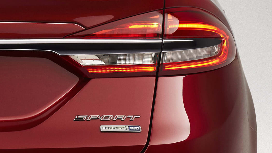 2017 Ford Fusion taillight