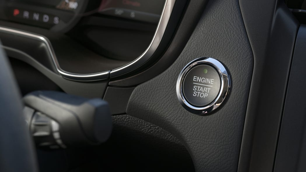 2017 Ford Fusion start button