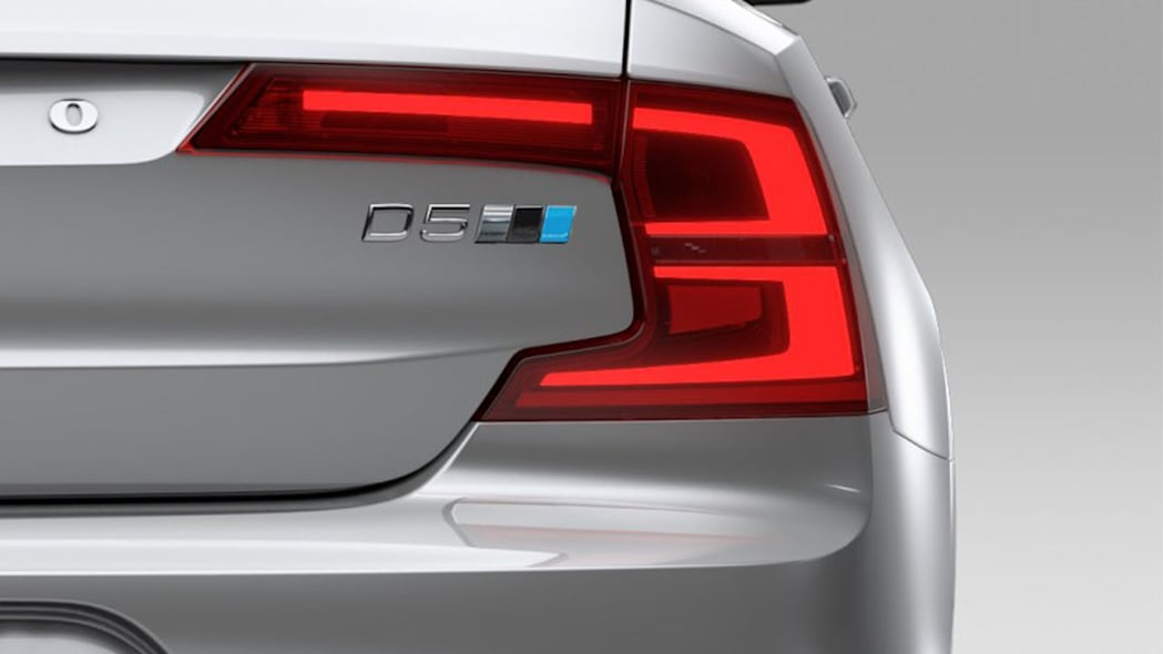 Volvo S90 D5 Polestar badge
