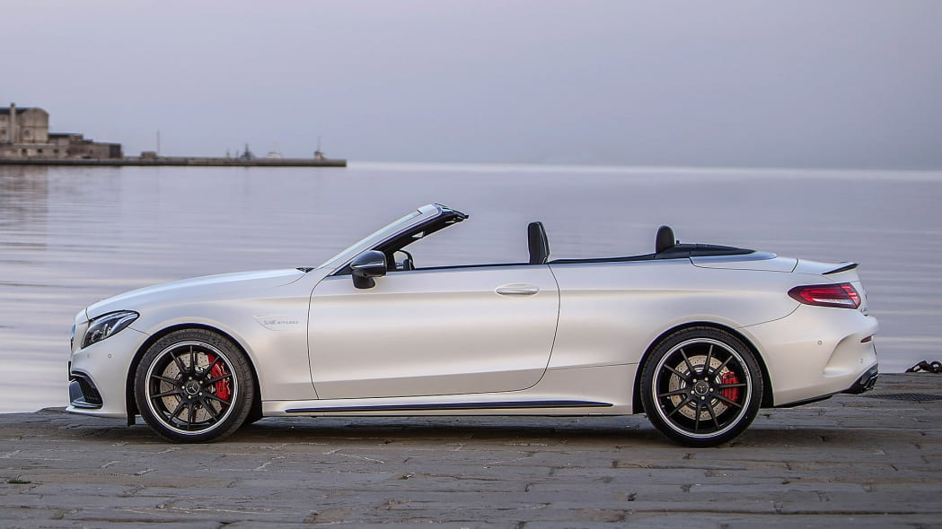 2017 Mercedes-AMG C63 S Cabriolet side view